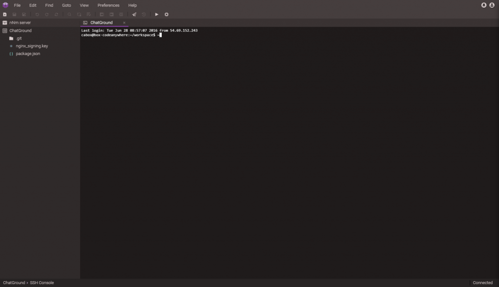 CodeAnyWhere IDE
